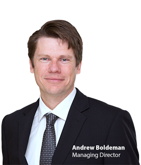 Headshot of Andrew Boldeman Avant MD